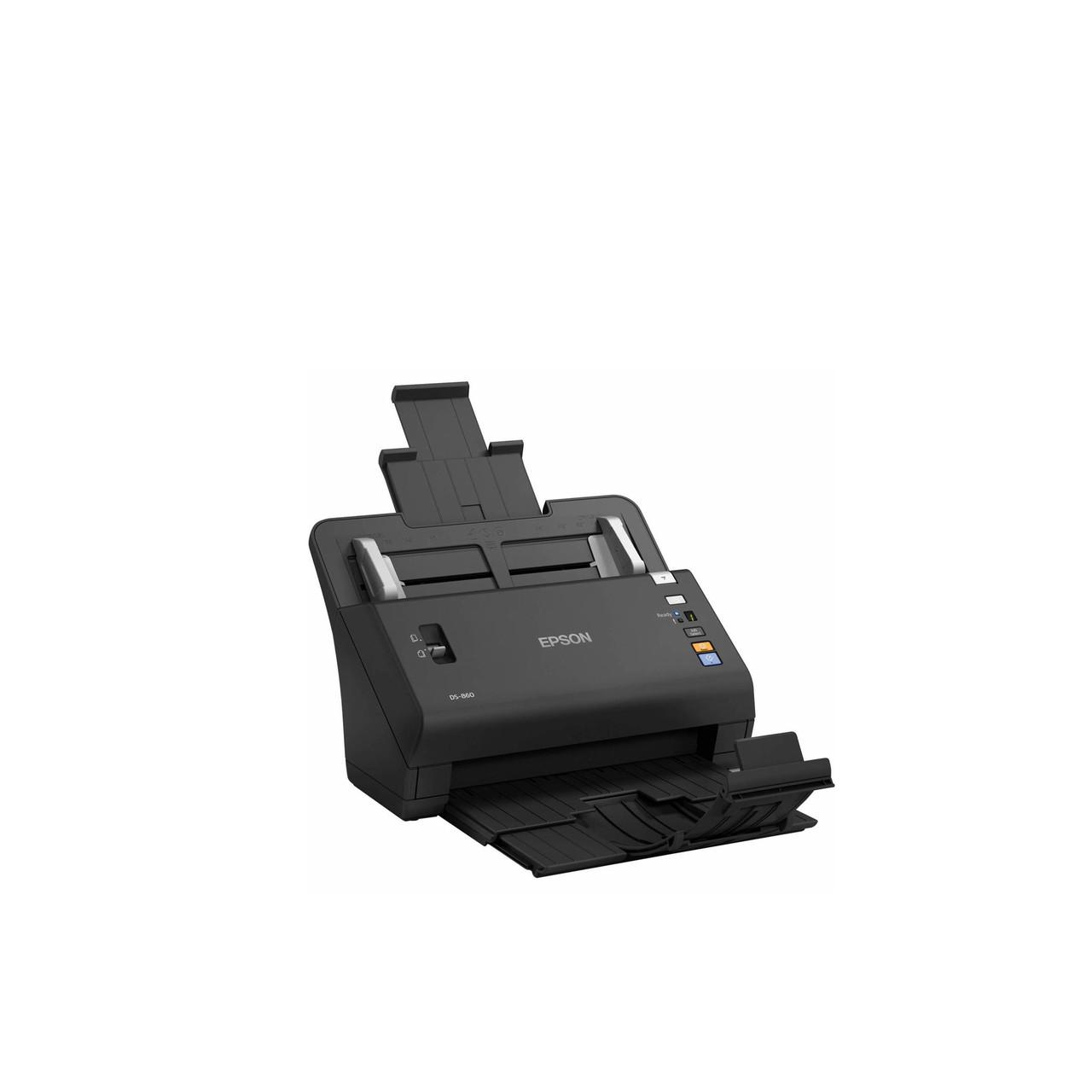 Скоростной | протяжный сканер Epson WorkForce DS-860N (А4, USB, Ethernet) B11B222401BT