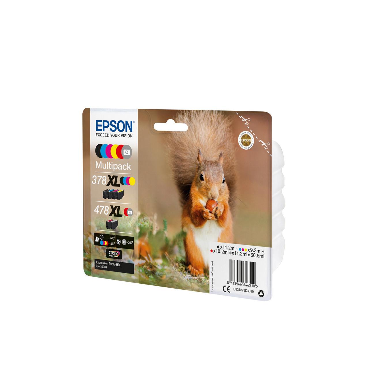 Струйный картридж Epson 378XL - 478XL (Оригинальный Цветной) C13T379D4020