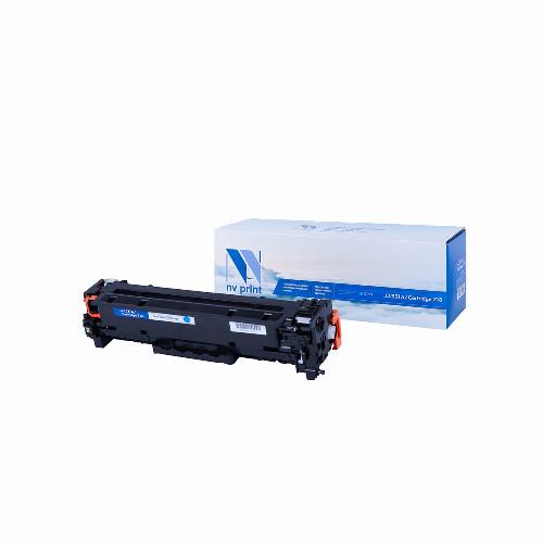 Лазерный картридж NV Print NV-CC531A/NV-718 (Совместимый (дубликат) Голубой - Cyan) NV-CC531A/718C