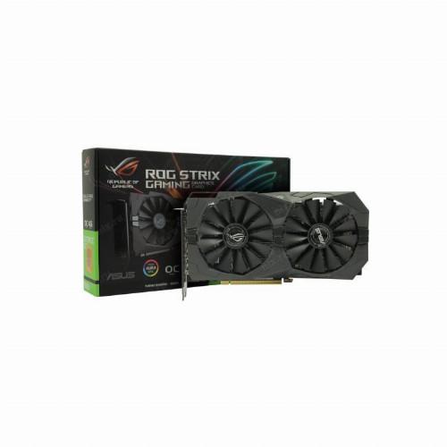 Видеокарта Asus ROG-STRIX GTX1650 (Nvidia, 4 Гб, GDDR5, 128 бит, PCI-E 3.0 x 16, 2 x HDMI, 2 x Display port,