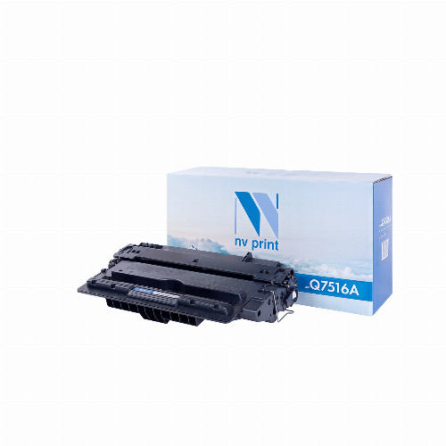Лазерный картридж NV Print NV-Q7516A (Совместимый (дубликат) Черный - Black) NV-Q7516A