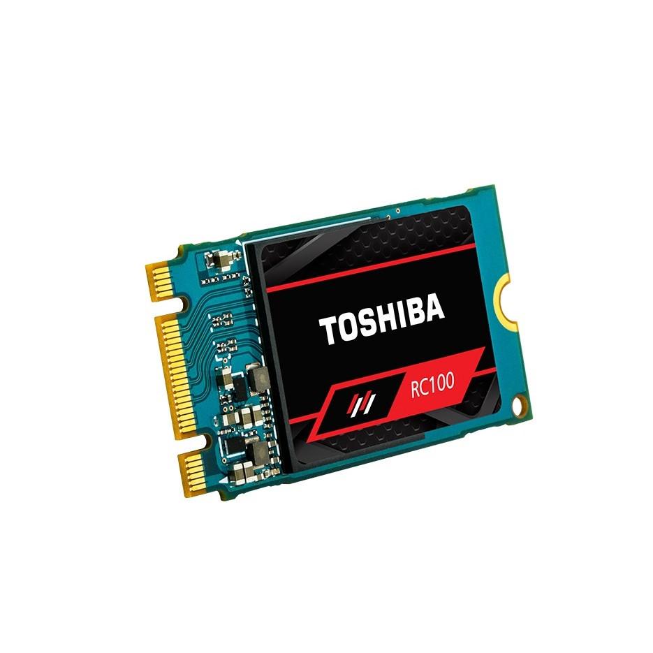 Жесткий диск внутренний Toshiba RC100 (240 Гб, SSD, M.2, Для ноутбуков, PCIe) THN-RC10Z2400G8