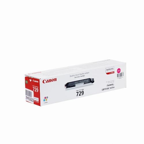 Лазерный картридж Canon 729 (Оригинальный Пурпурный - Magenta) 4368B002