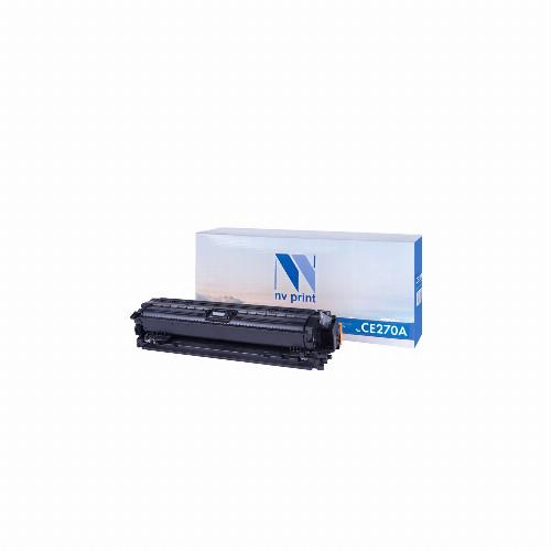 Лазерный картридж NV Print NV-CE270A (Совместимый (дубликат) Черный - Black) NV-CE270ABk