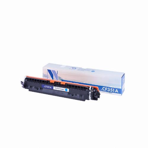 Лазерный картридж NV Print NV-CF351A (Совместимый (дубликат) Голубой - Cyan) NV-CF351AC