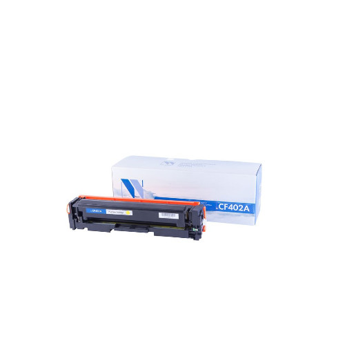 Лазерный картридж NV Print NV-CF402A (Совместимый (дубликат) Желтый - Yellow) NV-CF402AY