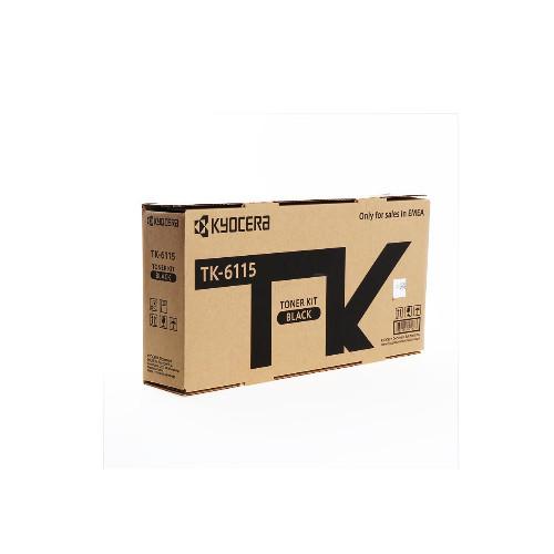 Тонер картридж Kyocera TK-6115 (Оригинальный Черный - Black) 1T02P10NL0