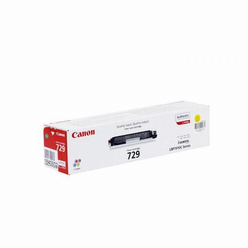 Лазерный картридж Canon 729 (Оригинальный, Желтый - Yellow) 4367B002