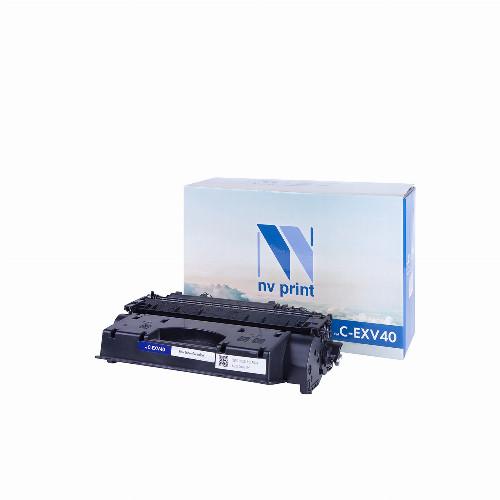 Тонер картридж NV Print NV-C-EXV40 (Совместимый (дубликат) Черный - Black) NV-CEXV40