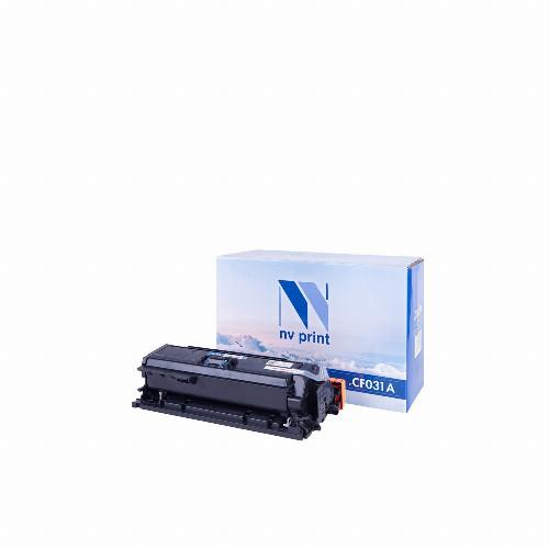 Лазерный картридж NV Print NV-CF031A (Совместимый (дубликат) Голубой - Cyan) NV-CF031AC