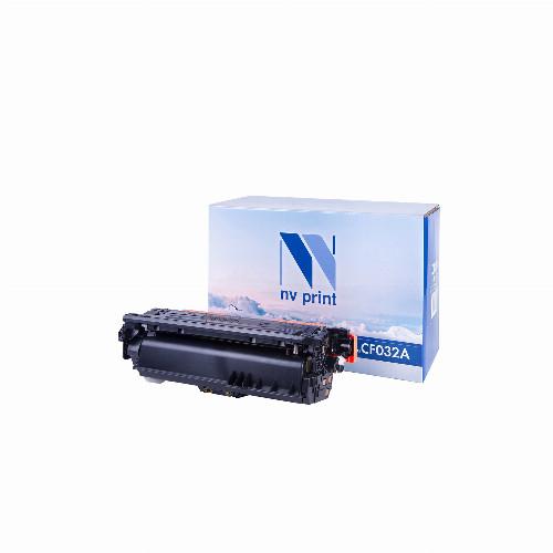 Лазерный картридж NV Print NV-CF032A (Совместимый (дубликат) Желтый - Yellow) NV-CF032AY