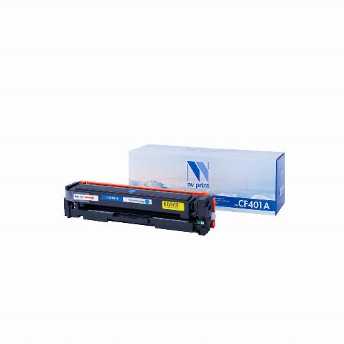 Лазерный картридж NV Print NV-CF401A (Совместимый (дубликат), Голубой - Cyan) NV-CF401AC
