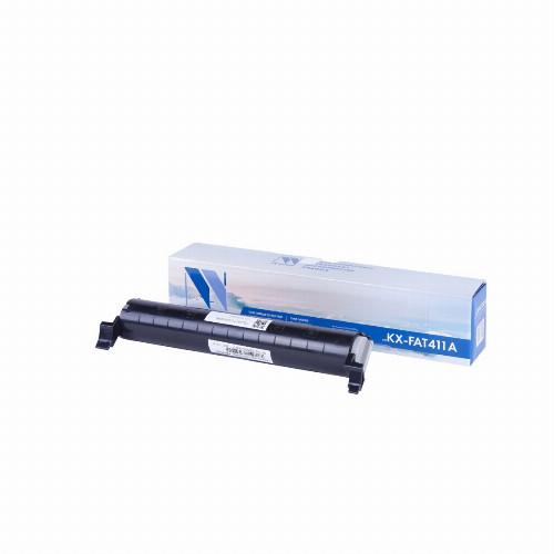Лазерный картридж NV Print NV-KX-FAT411A (Совместимый (дубликат) Черный - Black) NV-KXFAT411A