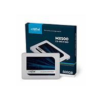 Жесткий диск внутренний Crucial MX500 (2Тб (2000Гб), SSD, 2,5″, Для ноутбуков, SATA) CT2000MX500SSD1