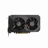 Видеокарта Asus TUF GeForce GTX1660Ti (Nvidia, 6 Гб, GDDR6, 192 бит, PCI-E 3.0 x 16, 1 x DVI-D, 2 x HDMI, 1 x