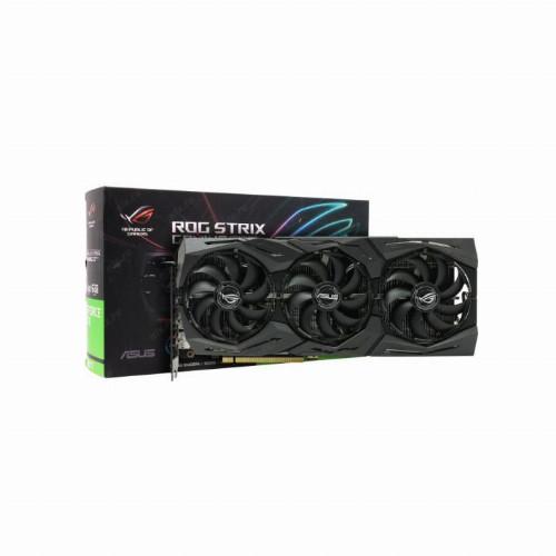 Видеокарта Asus ROG-STRIX GeForce GTX1660Ti (Nvidia, 6 Гб, GDDR6, 192 бит, PCI-E 3.0 x 16, 2 x HDMI, 2 x