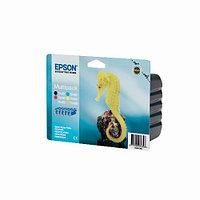 Струйный картридж Epson T0487 Multipack (Оригинальный, Цветной) C13T04874010