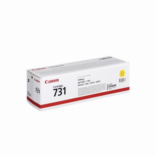 Лазерный картридж Canon 731 (Оригинальный, Желтый - Yellow) 6269B002