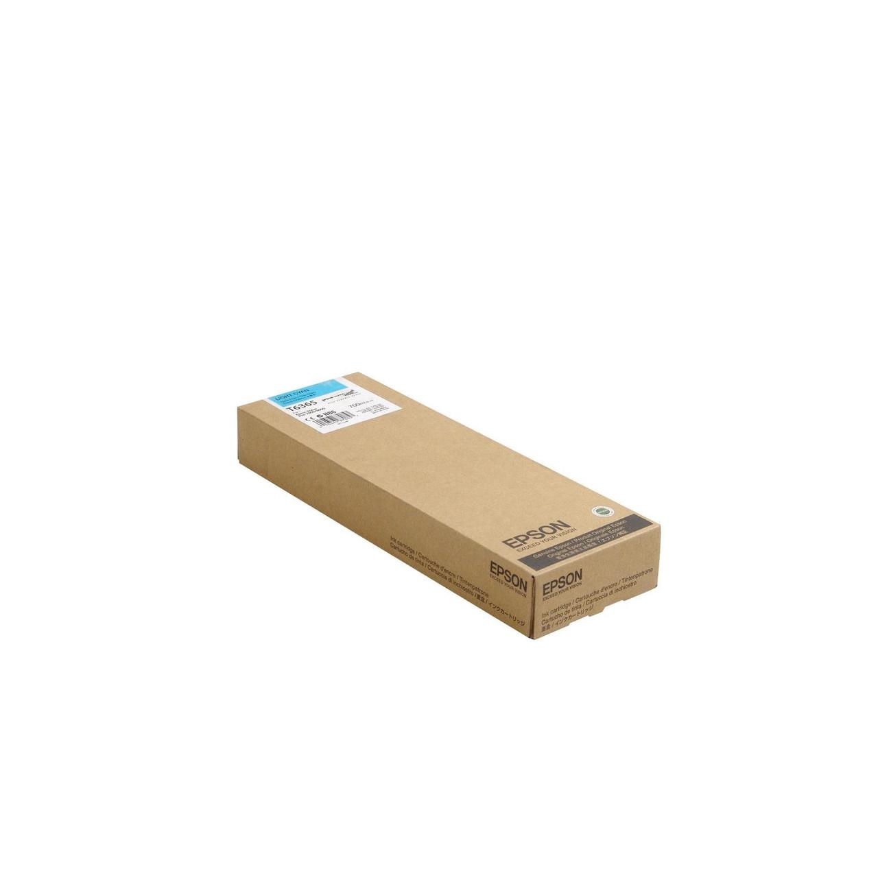 Струйный картридж Epson T6365 (Оригинальный, Светло-голубой - Light Cyan) C13T636500