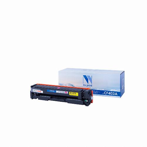 Лазерный картридж NV Print NV-CF403A (Совместимый (дубликат) Пурпурный - Magenta) NV-CF403AM