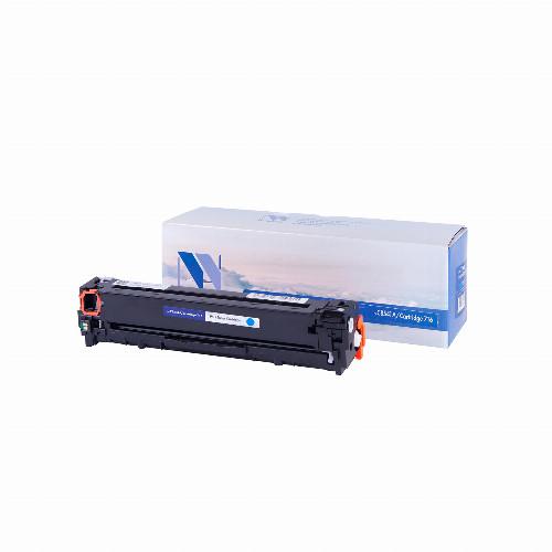 Лазерный картридж NV Print NV-CB541A/NV-716 (Совместимый (дубликат) Голубой - Cyan) NV-CB541A/716C