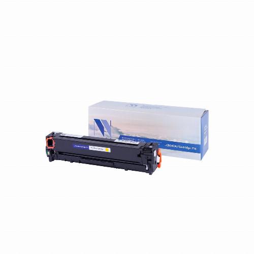 Лазерный картридж NV Print NV-CB542A/NV-716 (Совместимый (дубликат) Желтый - Yellow) NV-CB542A/716Y