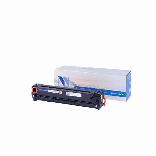 Лазерный картридж NV Print NV-CB543A/NV-716 (Совместимый (дубликат) Пурпурный - Magenta) NV-CB543A/716M