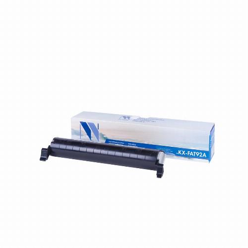 Лазерный картридж NV Print NV-KX-FAT92A (Совместимый (дубликат) Черный - Black) NV-KXFAT92A