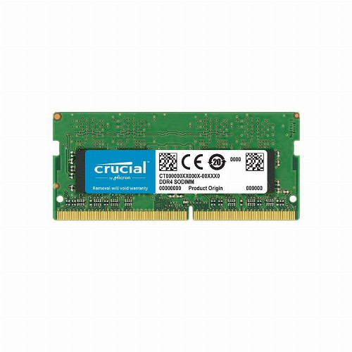 Оперативная память (ОЗУ) Crucial CT8G4SFS8266 (8 Гб, SO-DIMM, 2666 МГц, DDR4, non-ECC, Unregistered)