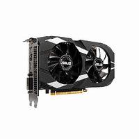 Видеокарта Asus DUAL GeForce GTX1650 (Nvidia, 4 Гб, GDDR5, 128 бит, PCI-E 3.0 x 16, 1 x DVI-D, 1 x HDMI, 1 x Display port, Без дополнительного