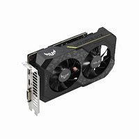 Видеокарта Asus TUF GeForce GTX1660 (Nvidia, 6 Гб, GDDR5, 192 бит, PCI-E 3.0 x 16, 1 x DVI-D, 1 x HDMI, 1 x