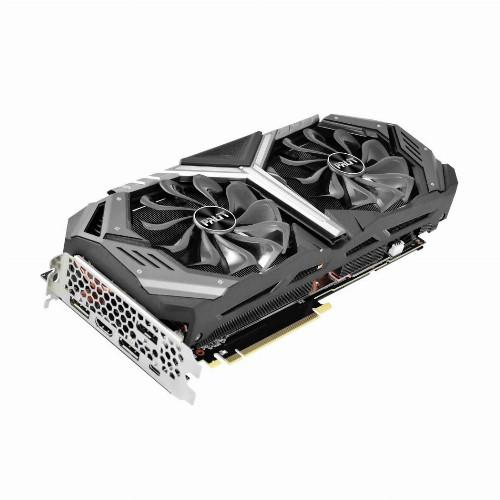 Видеокарта Palit GeForce PALIT RTX™ 2070 GameRock Premium (Nvidia, 8 Гб, GDDR6, 256 бит, PCI-E 3.0 x 16, 1 x