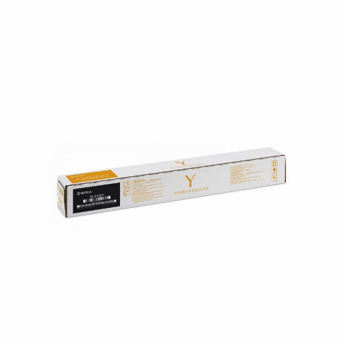 Тонер картридж Kyocera TK-8345Y (Оригинальный Желтый - Yellow) 1T02L7ANL1