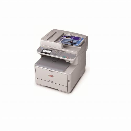 МФУ Oki MC352DN (Лазерный, A4, Цветной, USB, Ethernet, Планшетный) 44952004