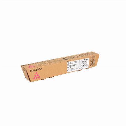 Тонер картридж Ricoh MP C2551 (Оригинальный Пурпурный - Magenta) 842063