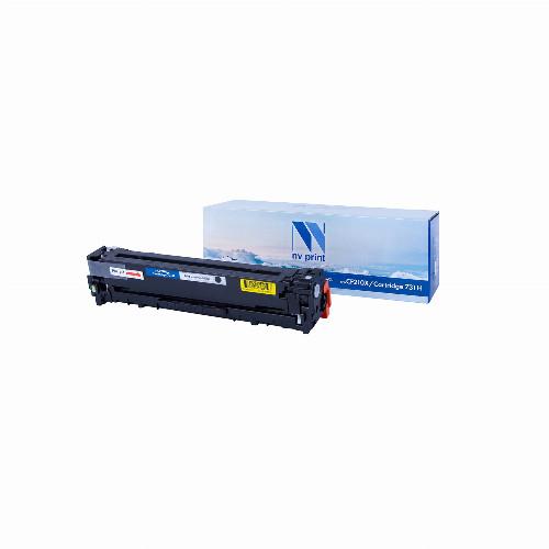 Лазерный картридж NV Print NV-CF210A/NV-731 (Совместимый (дубликат) Черный - Black) NV-CF210A/731Bk