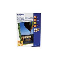 Бумага Epson Premium Semigloss Photo Paper, плотность 251 г/м2 (А6 - 10х15, 50 листов) C13S041765