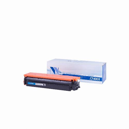 Лазерный картридж NV Print NV-CF400X (Совместимый (дубликат) Черный - Black) NV-CF400XBk