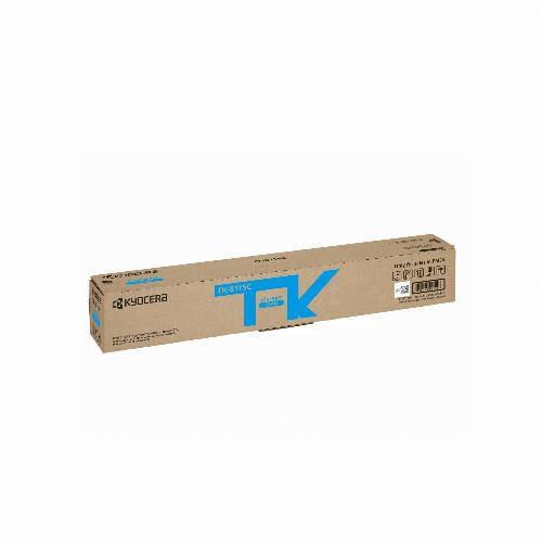 Тонер картридж Kyocera TK-8115C (Оригинальный Голубой - Cyan) 1T02P3CNL0