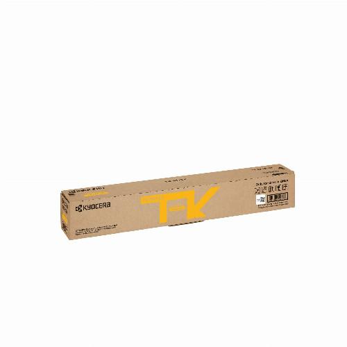 Тонер картридж Kyocera TK-8115Y (Оригинальный Желтый - Yellow) 1T02P3ANL0