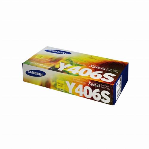 Лазерный картридж Samsung Y406S (Оригинальный Желтый - Yellow) SU464A