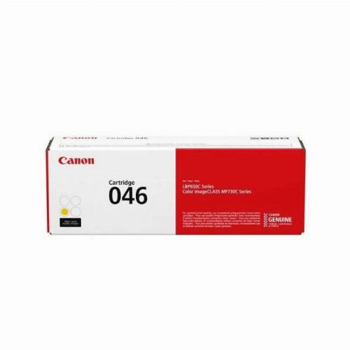 Лазерный картридж Canon 046 (Оригинальный Желтый - Yellow) 1247C002