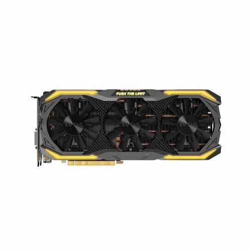 Видеокарта Zotac GTX1070Ti AMP Extreme (Nvidia, 8 Гб, GDDR5, 256 бит, PCI-E 3.0 x 16, 1 x DVI-D, 1 x HDMI, 3 x