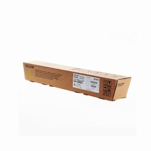 Тонер картридж Ricoh MP C6003 (Оригинальный Желтый - Yellow) 841854