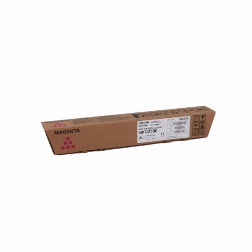 Тонер картридж Ricoh MP C2550 (Оригинальный Пурпурный - Magenta) 842059