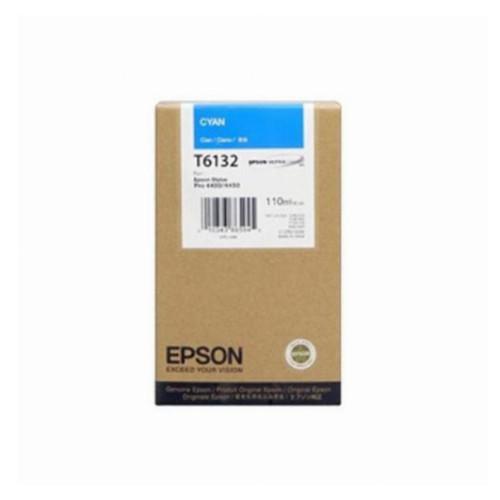 Струйный картридж Epson T6132 (Оригинальный, Голубой - Cyan) C13T613200