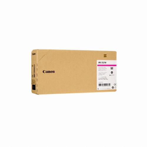 Струйный картридж Canon PFI707 (Оригинальный, Пурпурный - Magenta) 9823B001