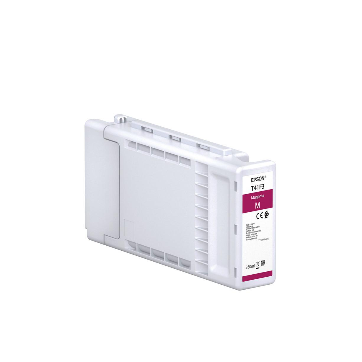 Струйный картридж Epson T41F3 (Оригинальный, Пурпурный - Magenta) C13T41F340