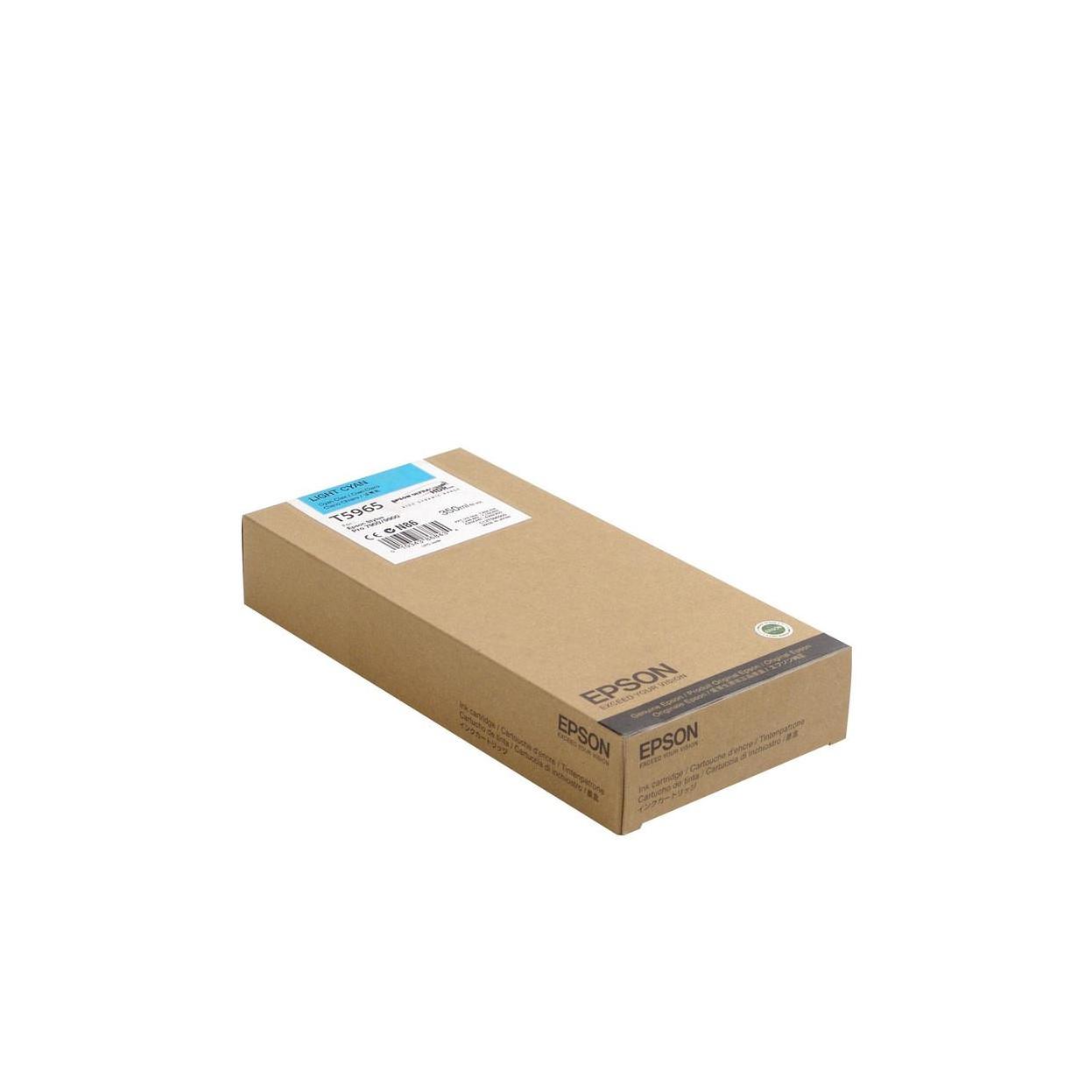 Струйный картридж Epson T5965 (Оригинальный, Светло-голубой - Light Cyan) C13T596500