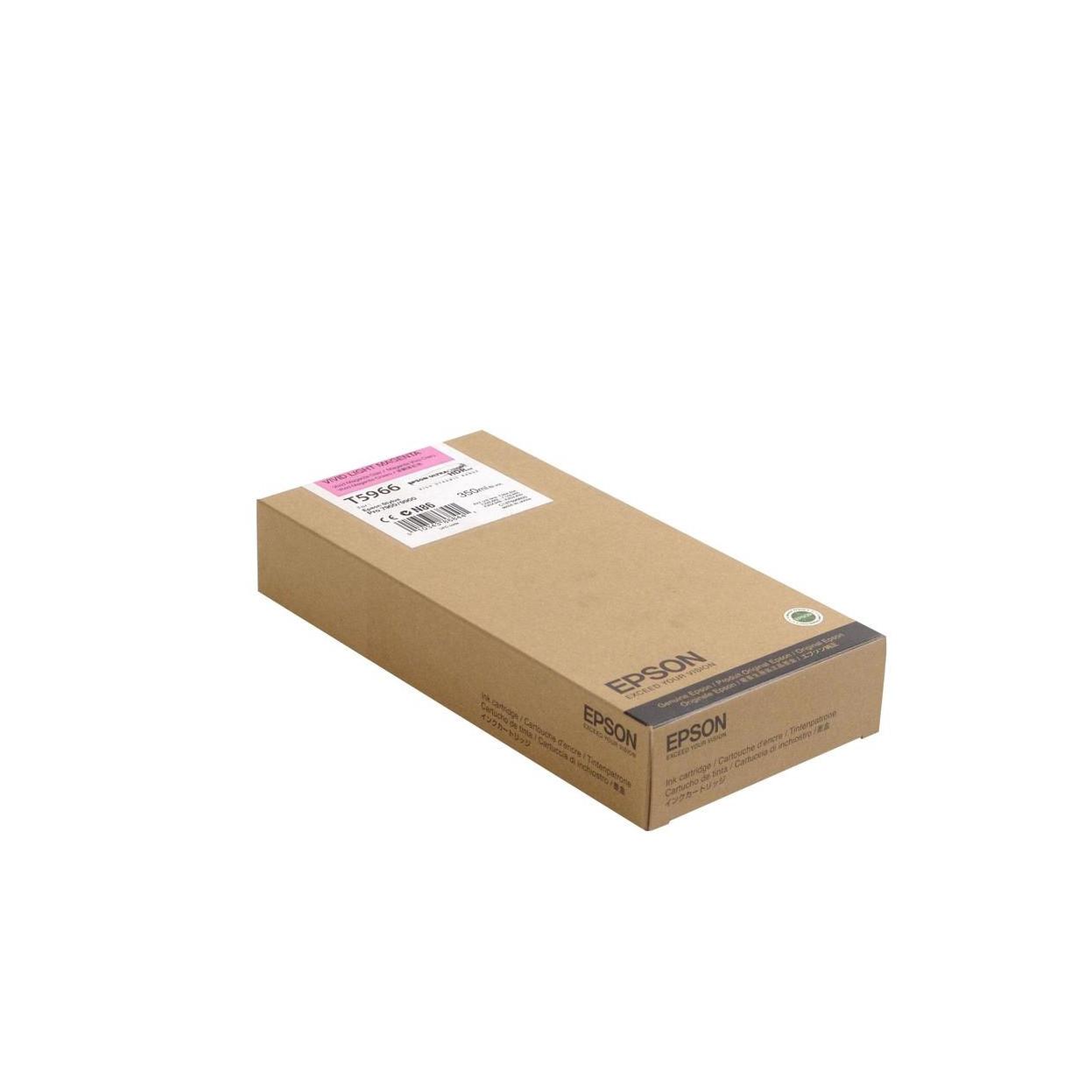 Струйный картридж Epson T5966 (Оригинальный, Светло-пурпурный - Light magenta) C13T596600